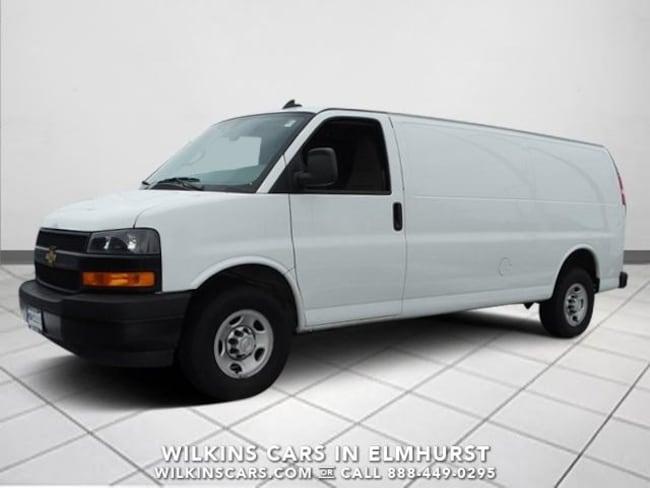 Used 2018 Chevrolet Express Cargo Van RWD 2500 155 Van Near Chicago