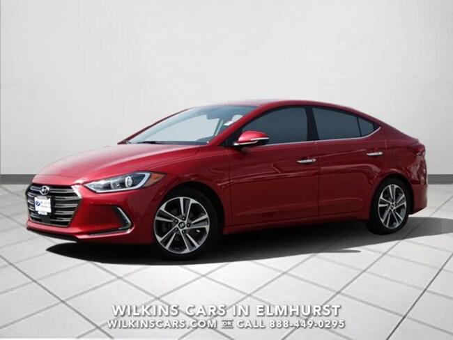 Certified 2017 Hyundai Elantra Limited 2.0L Auto (Alabama) *Ltd Avail* Sedan Chicago
