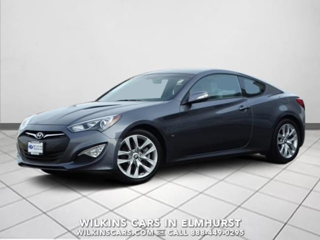 Certified 2015 Hyundai Genesis Coupe 3.8L Auto  w/Gray Seats Coupe Chicago