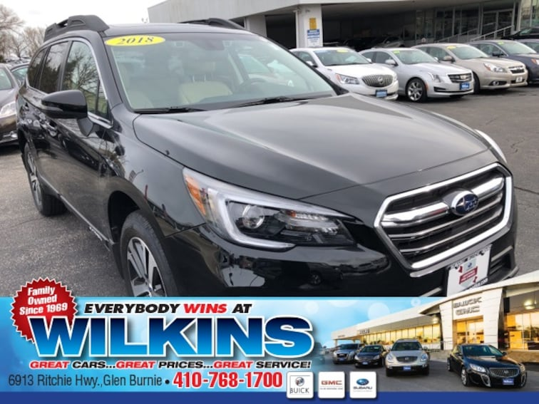 Certified Used  2018 Subaru Outback 2.5i Limited SUV near Baltimore