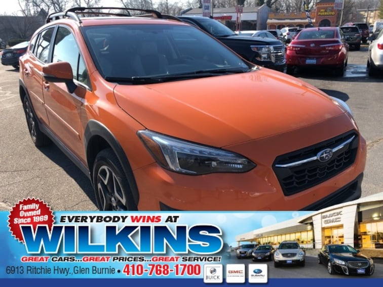 Used 2018 Subaru Crosstrek 2.0i Limited SUV near Baltimore