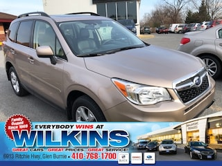 Certified Pre-Owned 2015 Subaru Forester 2.5i Limited (CVT) SUV JF2SJAHC1FH575438 for Sale in Glen Burnie near Baltimore