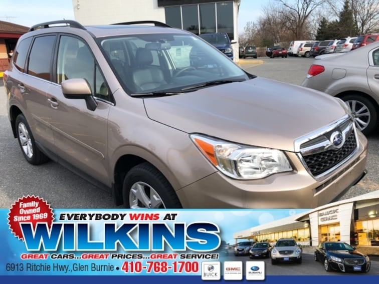 Certified Used  2015 Subaru Forester 2.5i Limited (CVT) SUV near Baltimore