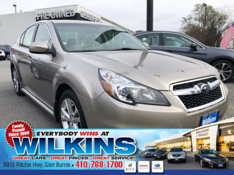 Certified Used  2014 Subaru Legacy 2.5i Limited (CVT) Sedan near Baltimore