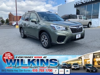 Certified Pre-Owned 2019 Subaru Forester Premium SUV JF2SKAGC4KH433125 for Sale in Glen Burnie near Baltimore