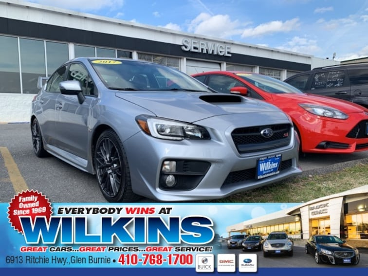 Used 2017 Subaru WRX Sedan near Baltimore