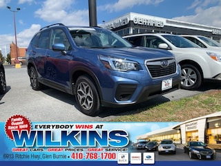 Certified Pre-Owned 2019 Subaru Forester Premium SUV JF2SKAGC0KH433204 for Sale in Glen Burnie near Baltimore