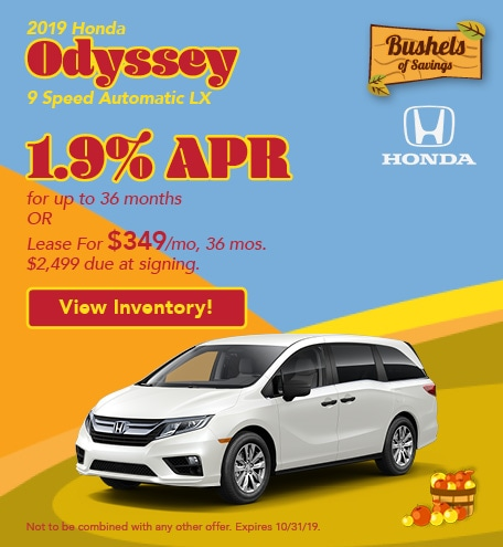 2019 Odyssey - September Offers