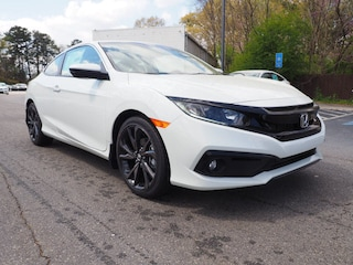 New 2019 Honda Civic Sport Coupe K304540 for Sale in Morrow at Willett Honda South