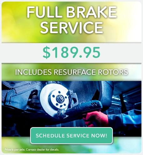 Full Brake Service April