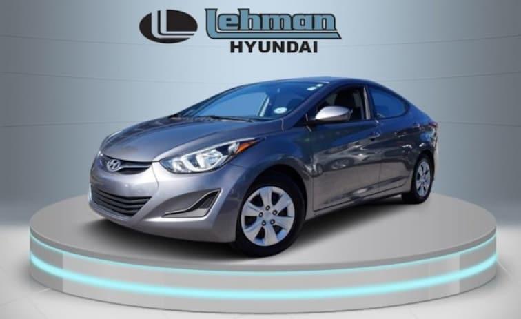 Certified Used 2016 Hyundai Elantra SE Sedan in Miami
