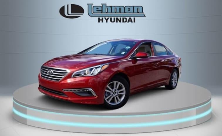Certified Used 2015 Hyundai Sonata SE Sedan in Miami