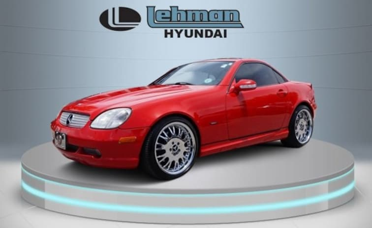 Used 2001 Mercedes-Benz SLK-Class Base Coupe in Miami