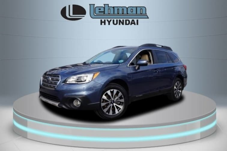 Certified Used 2016 Subaru Outback 2.5i Limited SUV in Miami