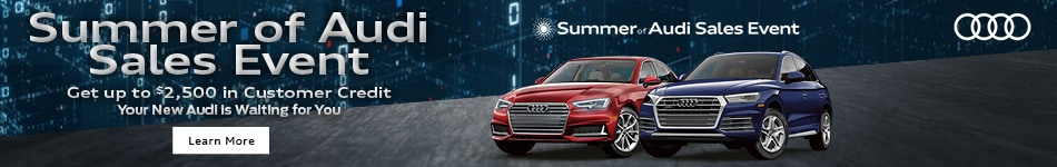 August 2019 Summer of Audi