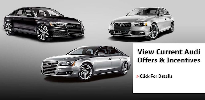 View Audi Incentives