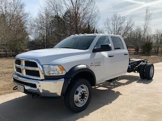 2018 Ram 5500 Chassis Tradesman Truck Crew Cab