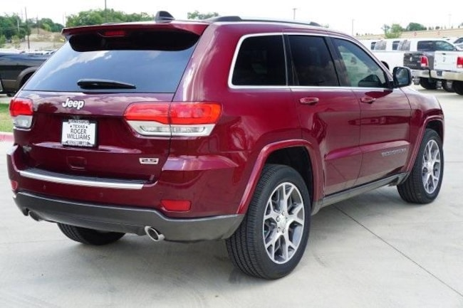 2018 jeep grand cherokee sterling edition 4x2
