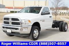 2017 Ram 3500 TRADESMAN CHASSIS REGULAR CAB 4X2 167.5 WB Regular Cab