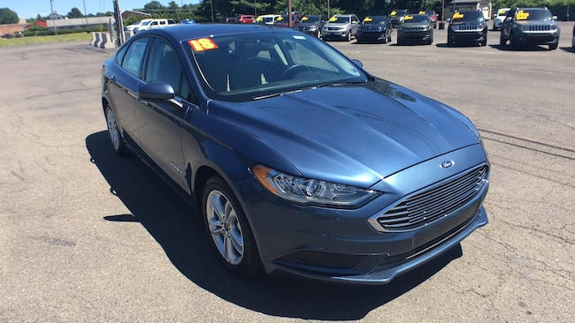 New 2018 Ford Fusion Hybrid S Sedan in Sayre, PA
