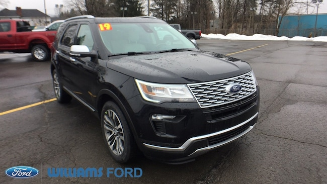 New 2019 Ford Explorer Platinum SUV in Sayre, PA