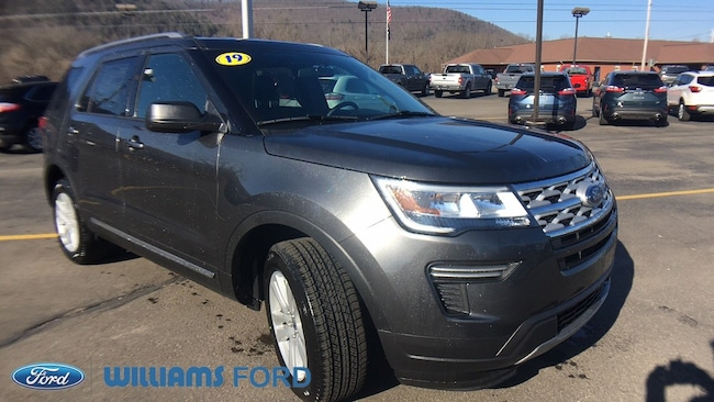 New 2019 Ford Explorer XLT SUV in Sayre, PA