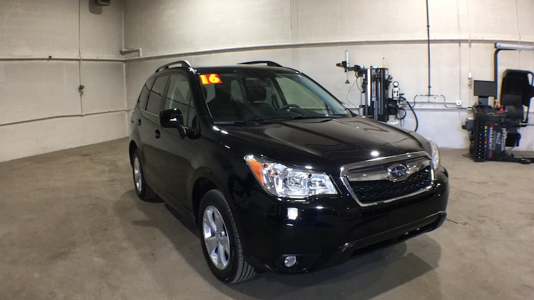 Used 2016 Subaru Forester 2.5i Limited CVT 2.5i Limited PZEV for sale in Sayre, PA