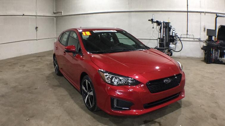 2018 Subaru Impreza Sport 2.0i Sport  CVT