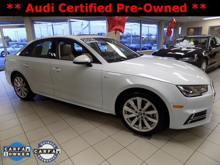 Audi A4 2.0 T >> Certified Used 2018 Audi A4 2 0t Premium For Sale In Lansing Mi