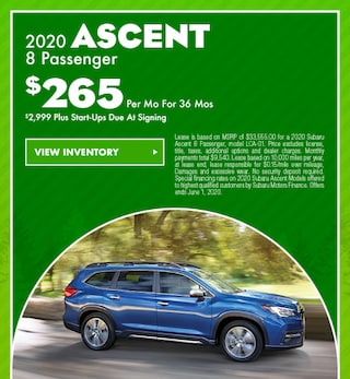 May 2020 Ascent Special