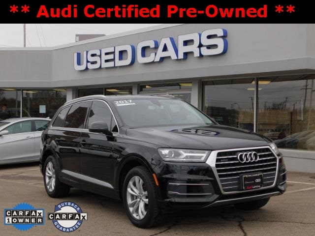 Certified Used 2017 Audi Q7 3 0T Premium For Sale in Lansing MI