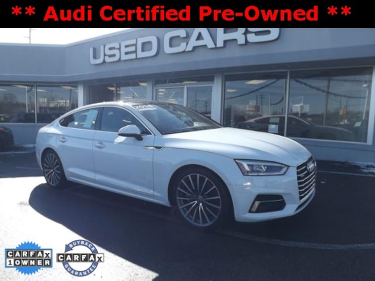 Certified Used 2018 Audi A5 20t Premium For Sale In Lansing Mi