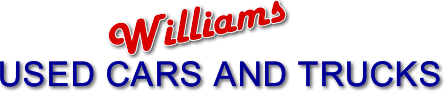 Williams  Used Cars & Trucks