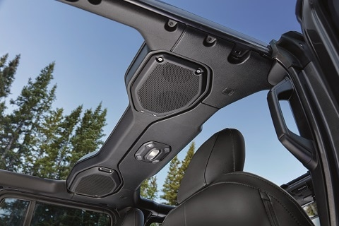 New Jeep Wrangler Overhead Speakers
