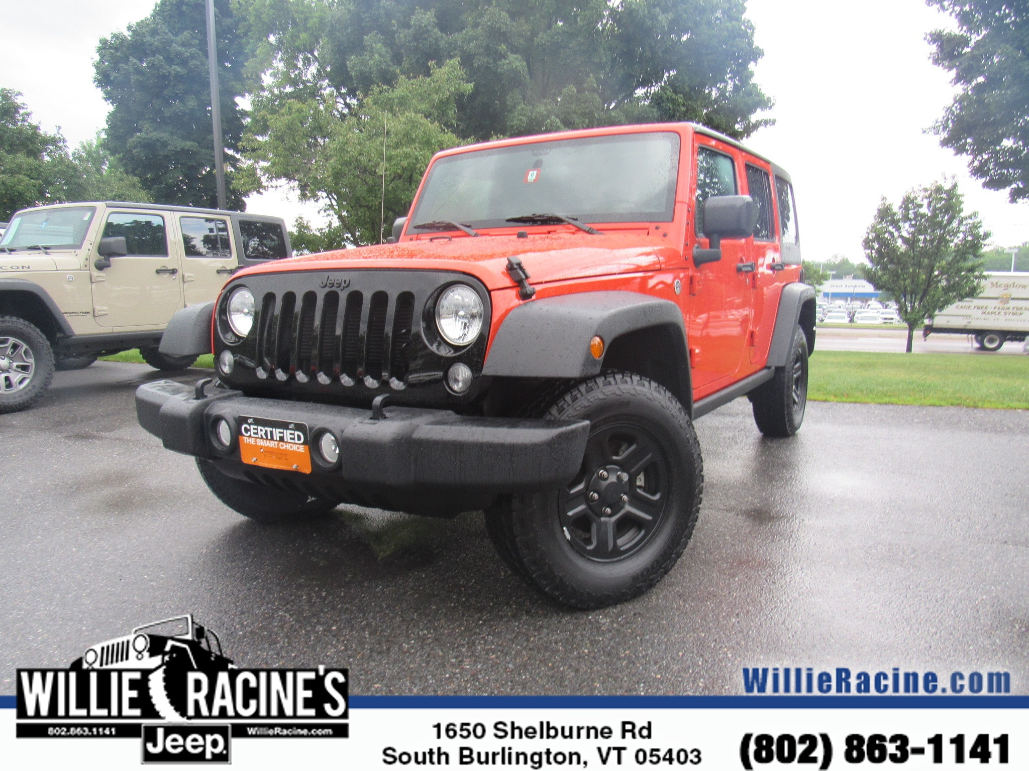 Used 2015 Jeep Wrangler Unlimited Sport 4x4 SUV for sale in Burlington, VT