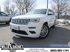 New 2018 Jeep Grand Cherokee Overland Summit SUV for sale in South Burlington, VT at Willie Racine's Jeep