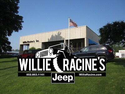 about willie racine 39 s south burlington new jeep and used car dealer. Black Bedroom Furniture Sets. Home Design Ideas