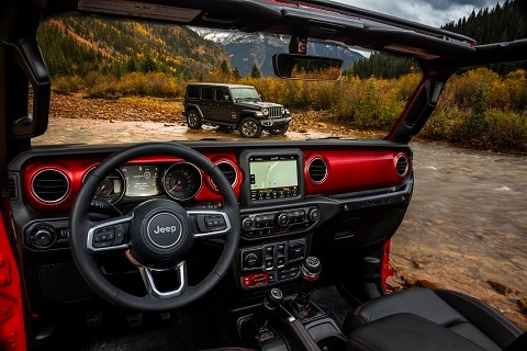 New 2018 Jeep Wrangler Interior