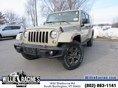 New 2018 Jeep Wrangler JK Unlimited Golden Eagle SUV for sale in South Burlington, VT at Willie Racine's Jeep