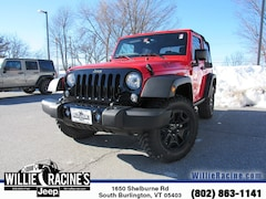 New 2018 Jeep Wrangler JK Willys Wheeler SUV for sale in South Burlington, VT at Willie Racine's Jeep