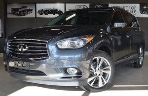 2014 INFINITI QX60 Tech, Adaptive cruise, Blind Spot, DVD, Lane dep