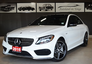 2016 Mercedes-Benz C-Class C450 AMG 4matic, Navi, Back up cam.