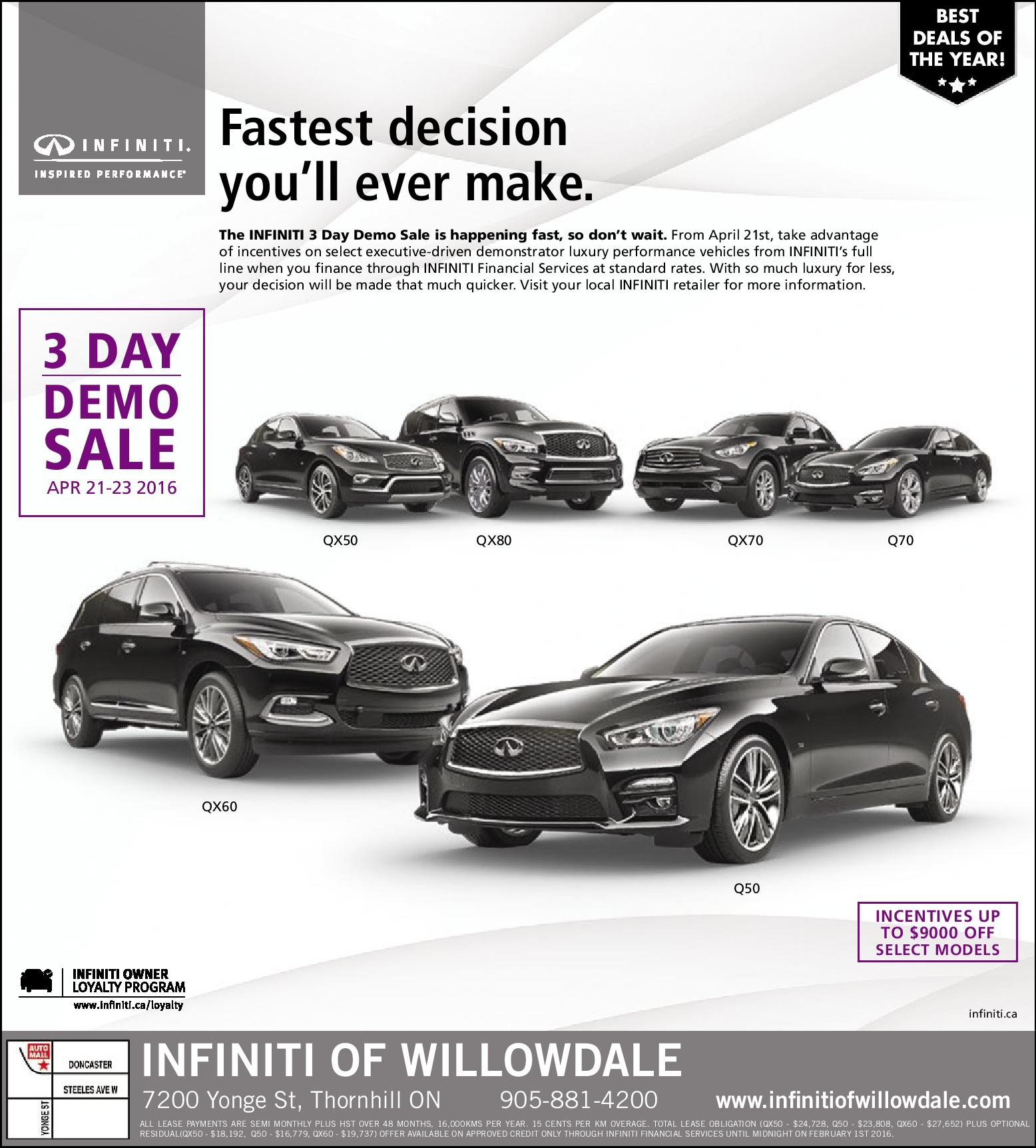 new englewood infinity of used lease vehicles infiniti fwd payment
