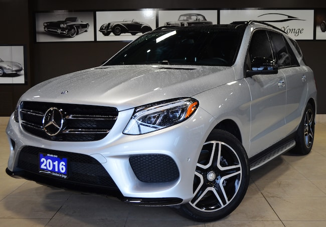 2016 Mercedes-Benz GLE 350d 4MATIC AMG SPORTS PACKAGE/NAVIGATION SUV