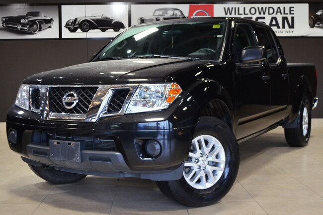 2016 Nissan Frontier SV 4 X 4 / CPO AVAILABLE Truck Crew Cab