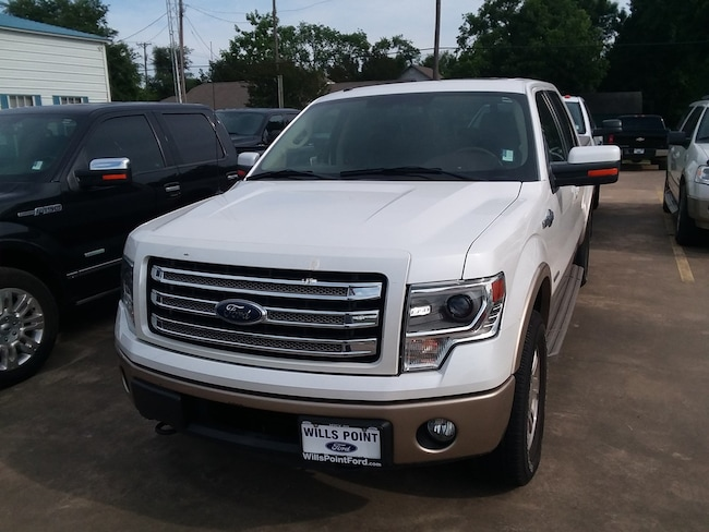 2013 Ford F-150 King Ranch 4WD SuperCrew 145 King Ranch