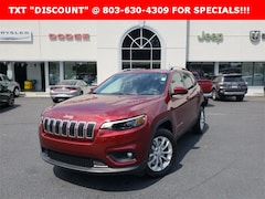 New 2019 Jeep Cherokee LATITUDE FWD Sport Utility for sale near Columbia, SC