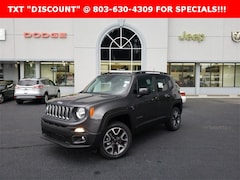 New 2018 Jeep Renegade LATITUDE 4X4 Sport Utility for sale near Columbia, SC