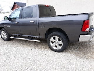Used 2017 Ram 1500 Big Horn Truck Crew Cab 4x4 Automatic 3C6RR7LT2HG533655 For sale in Clinton, IL