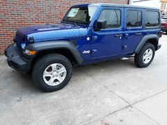 New 2019 Jeep Wrangler UNLIMITED SPORT S 4X4 Sport Utility For sale in Clinton, IL